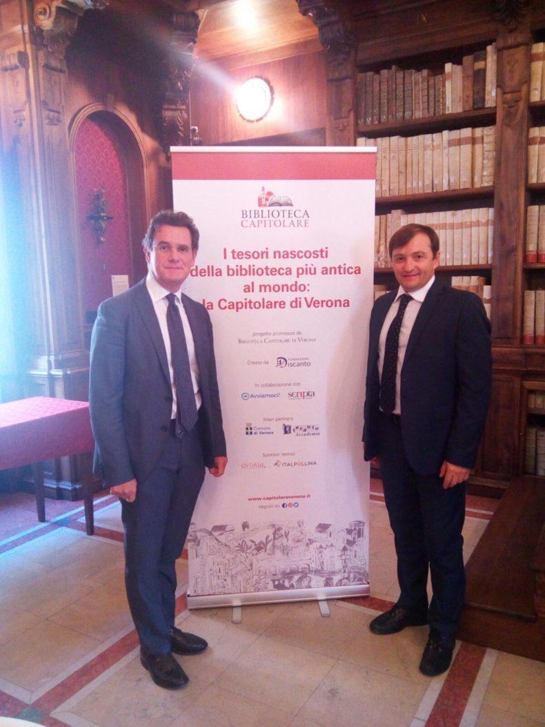 Avviamoci !: La piattaforma veronese di Crowdfunding a sostegno della Biblioteca Capitolare di Verona