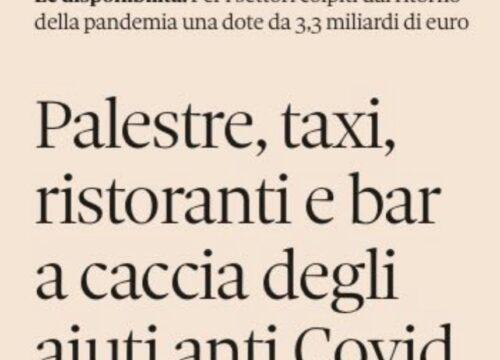 """Al via il Decreto """"Ristori"""", più che un ristori è una consolazione – Studio Gazzani"""